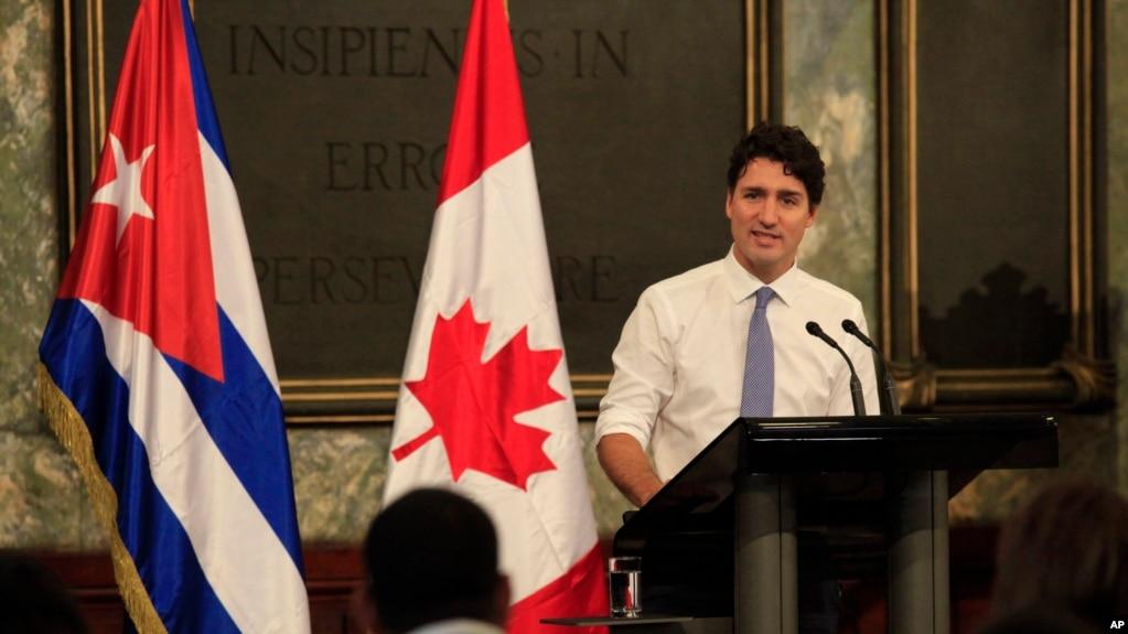 Thủ tướng Canada, Justin Trudeau.