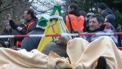 تظاهرات ضد فعاليت اتمی در آلمان