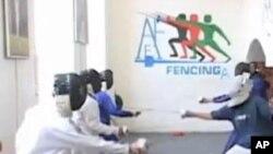 شمشیر بازی در افغانستان درحال پیشرفت است