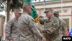 جریان پایان تشریفاتی ماموریت ۱۳ آیساف در افغانستان