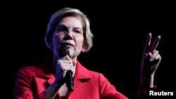 2020 کے صدارتی انتخاب کیلئے ایک خاتون امیدوار ایلزبتھ وارن
