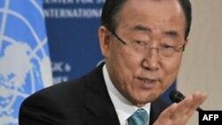 Magatakardan Majalisar Dinkin Duniya Ban Ki-moon