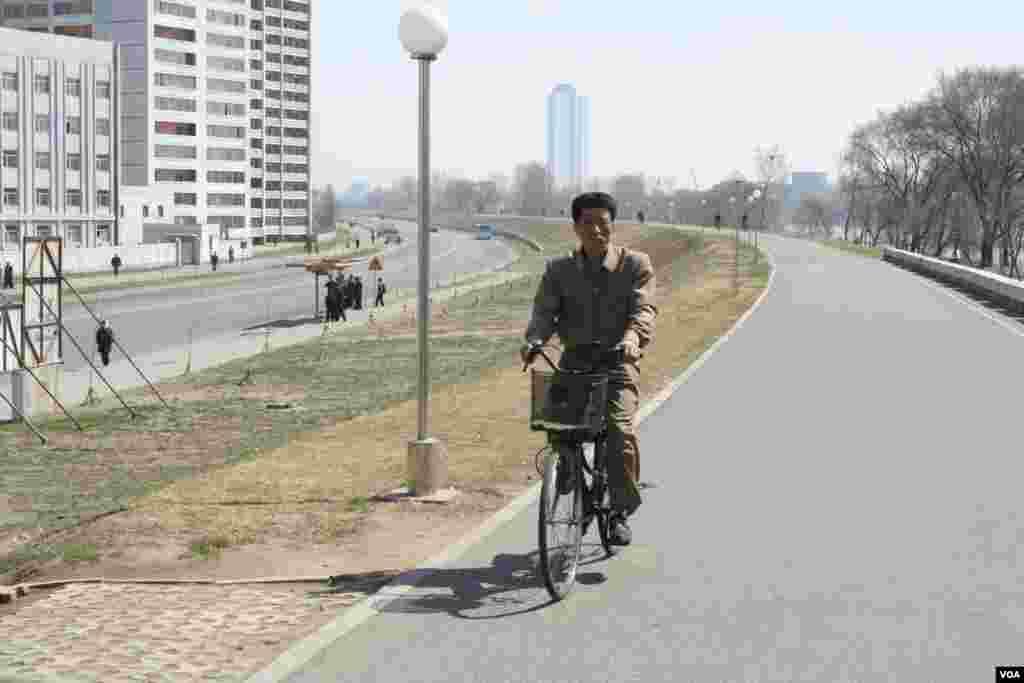 Велосипед - основной вид городского транспорта