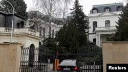 Посольство РФ в Праге. Архивное фото