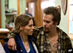 "Hilary Swank and Sam Rockwell in ""Conviction"""