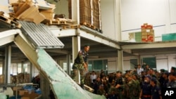 Roof Collapse at Cambodian Shoe Plant Kills Three - Minister
