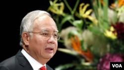 Perdana Menteri Malaysia Najib Razak mengatakan kelompok Muslim Filipina harus menyerah tanpa syarat atau menghadapi resiko diberantas pasukan Malaysia.(Foto: dok).