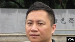 六四学运领袖 王丹(美国之音张永泰拍摄)