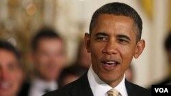 Los demócratas elogiaron y los republicanos criticaron a Obama.