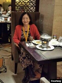 上海台灣研究會研究員周忠菲。(周忠菲提供)