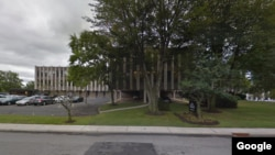 Google Street View of the fake University of Northern New Jersey.