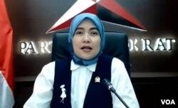 Anggota Komisi IX DPR Aliyah Mustika Ilham. (Foto: VOA)
