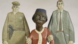 Sculpture of Rosa Parks by Marshall D. Rumbaugh