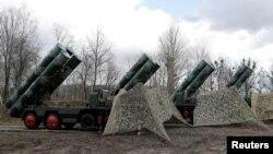 Các dàn tên lửa S-400 ở Nga (ảnh tư liệu, tháng 3/2019)