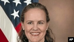 Under Secretary of Defense for Policy, Michele Flournoy (undated photo)