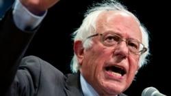 သမၼတေရြးပဲြမွာ Clinton ကုိ ေထာက္ခံမဲေပးဖုိ႔ ၿပိဳင္ဘက္ Sanders ကတိျပဳ