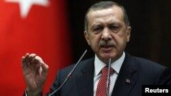 Erdogan aseguró que el ejército turco responderá a cualquier violación de la frontera por parte de Siria.