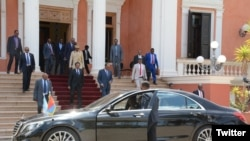Le président somalien en visite à Asmara