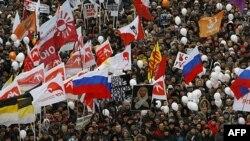 Dhjetra mijëra protestojnë në Moskë kundër manipulimeve zgjedhore