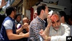 图片系列:大马士革大爆炸