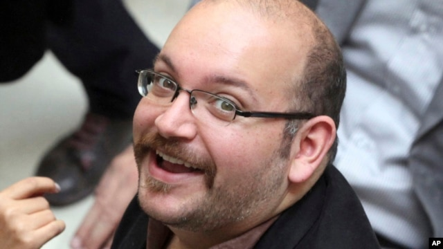 FILE - Jason Rezaian, an Iranian-American correspondent for the Washington Post, is seen in an April 11, 2013, photo.