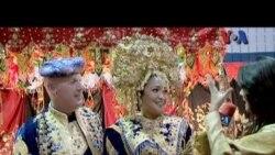 Pernikahan Indonesia di Amerika - VOA untuk Dahsyat
