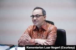 Juru Bicara Kementerian Luar Negeri Teuku Faizasyah. (Foto: Kementerian Luar Negeri RI)