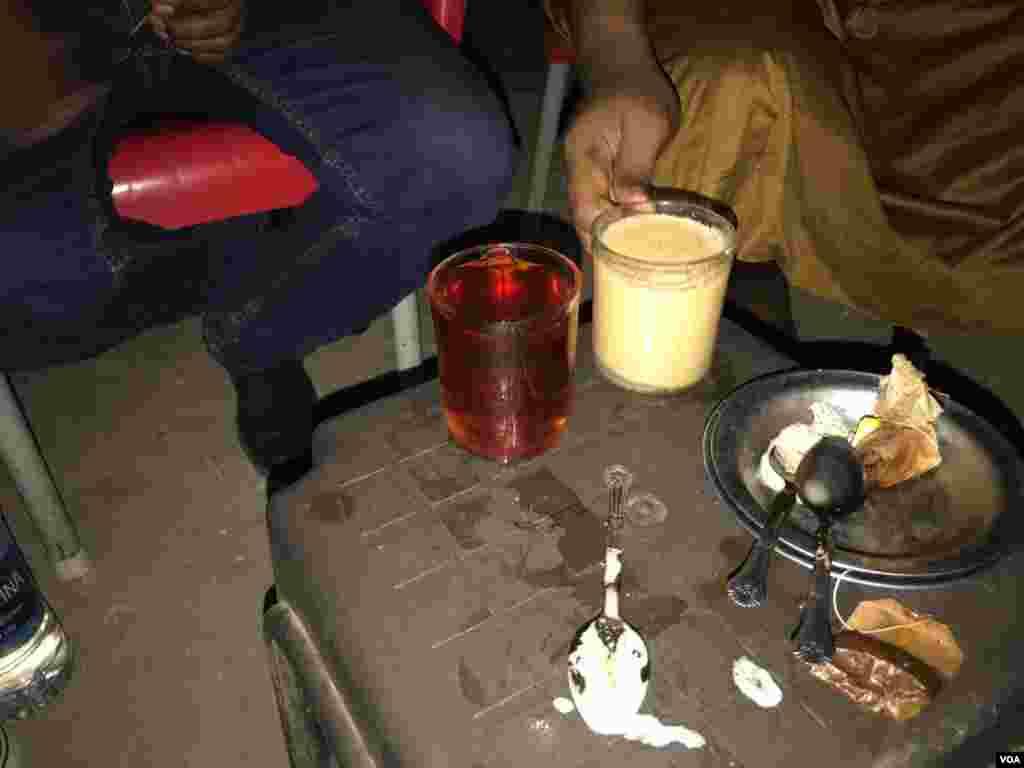 Kazi na dawa ; Kiburudisho muruwa cha chai nchini Misri