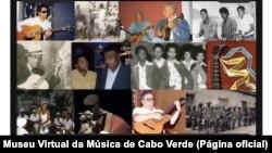 Museu Virtual da Música de Cabo Verde, página principal
