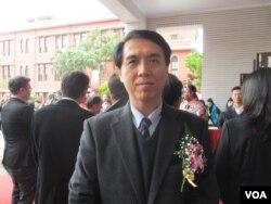國民黨立委陳學聖(美國之音張永泰拍攝)