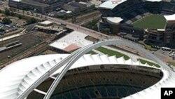 د جنوبی افریقا د فوټبال میدانونه نړیوال جام ته آماده دي