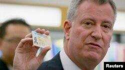 El alcalde demócrata, Bill de Blasio, ha prometido que no se entregarán esos registros de los indocumentados al gobierno federal.