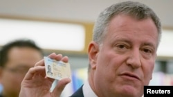 Majistra New York la, Bill de Blasio. (Foto Achiv).
