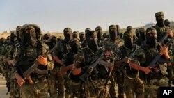 گروهی از اعضای گروه موسوم به «جنبش جهاد اسلامی فلسطین» در غزه که از حمایت جمهوری اسلامی برخوردار است