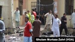 8 اگست کو سول اسپتال میں وکلاء پر خودکش حملہ ہوا تھا جس میں 55 وکلاء سمیت 70 سے زائد افراد ہلاک ہوئے تھے