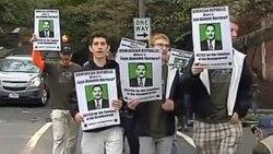대사관 돌며 열린 인권 행진