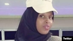 Murdered Somali journalist Sagal Salad Osman is seen in an undated photo. (File)