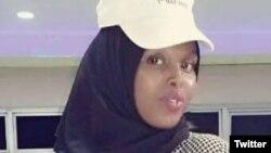 Murdered Somali journalist Sagal Salad Osman is seen in an undated photo. (File)