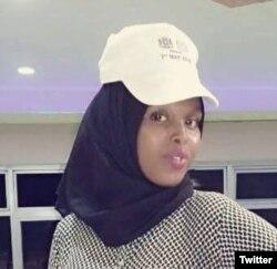Sagal Salad Osman is seen in an undated photo (via @HarunMaruf @radiomugadisho).