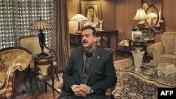 Thủ tướng PakistanYousuf Raza Gilani tại tư gia ở Lahore