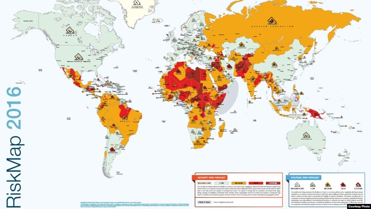 Risk terrorism