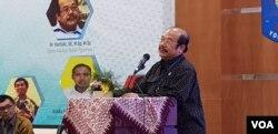 Anggota Komisi VII DPR RI, Kurtubi meyakini Indonesia sudah membutuhkan PLTN. (Foto:VOA/ Nurhadi)