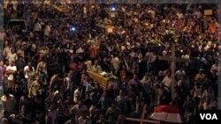 La Casa Blanca también informó que ambos líderes acordaron que las próximas elecciones de Egipto deben ser libres y transparentes.
