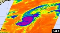Bão Gabrielle sẽ đổ khoảng 15 centimét nước mưa xuống Bermuda vào ngày thứ Tư