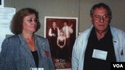 Петр и Мира Тодоровские. Монреаль. 1998 год