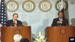 پاکستانی سیکرٹری خارجہ اور امریکی نمائندہ خصوصی