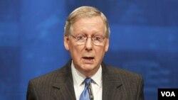Ketua Minoritas Senat, Mitch McConnell mengecam kebijakan pemerintah Obama yang menyebabkan tingginya harga BBM.