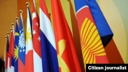 Para pejabat tinggi dan pakar keamanan ASEAN menghadiri pertemuan tahunan maritim ASEAN di Manila, Rabu (3/10).