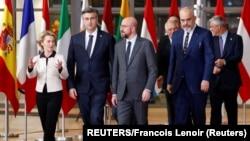 Лидерите на балканските држави на средби во Брисел