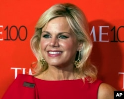 FILE - Gretchen Carlson, now chairwoman of the Miss America board, attends a Time magazine gala in New York, April 25, 2017.